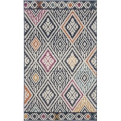Safavieh Evoke Navy and Ivory 3' x 5' Area Rug found on Bargain Bro India from Macy's for $53.99