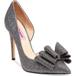 Betsey Johnson Prince d'Orsay Evening Pumps Women's Shoes found on Bargain Bro from Macy's for USD $52.44