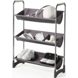 Neatfreak Stackable 3-Tier Fabric Bin Utility Shelf found on Bargain Bro India from Macy's for $48.99