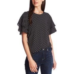 CeCe Dotted Flutter-Sleeve Top found on Bargain Bro Philippines from Macy's Australia for $62.37