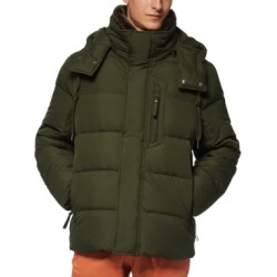 Marc New York Men's Baltic Mid-Length Parka With Removable Faux-Fur Collar found on MODAPINS from Macy's Australia for USD $159.11
