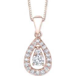 Diamond Dangle Teardrop 18