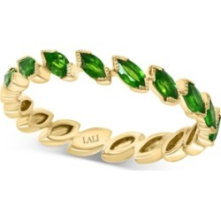 Lali Jewels Emerald Marquise Band (3/4 ct. t.w.) in 14k Gold (Also Available in Certified Ruby)