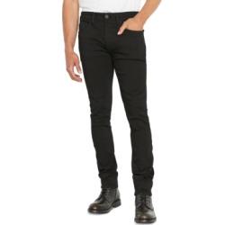 Buffalo David Bitton Men's Super-Skinny Black Jeans