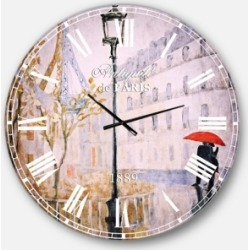 Designart Romantic French Country Oversized Metal Wall Clock found on Bargain Bro Philippines from Macy's Australia for $301.11