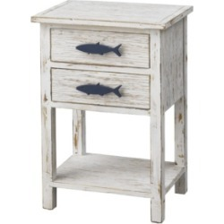Coast to Coast Two Drawer Accent Table