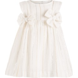 First Impressions Baby Girls Bow Dress, Created for Macy's