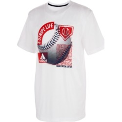 adidas Big Boys Baseball Cotton T-Shirt found on Bargain Bro India from Macy's for $14.99
