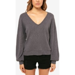 O'Neill Juniors' Calie V-Neck Sweater found on MODAPINS from Macy's for USD $49.50