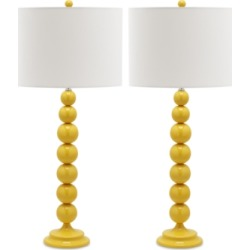 Safavieh Set of 2 Irene Table Lamps found on Bargain Bro from Macy's for USD $166.44