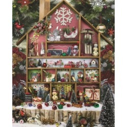 Springbok Puzzles Christmas Country Home 1000 Piece Jigsaw Puzzle