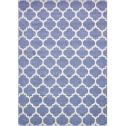 Bridgeport Home Arbor Arb1 Light Blue 8' x 11' Area Rug found on Bargain Bro India from Macy's for $305.00