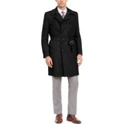 Calvin Klein Men's Slim-Fit Double Breasted Military Raincoat found on MODAPINS from Macy's for USD $395.00