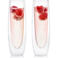 Epare Double-Wall Champagne Flute- Set of 2 found on Bargain Bro Philippines from Macy's Australia for $26.50