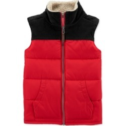 Carter's Toddler Boys Fleece-Trim Colorblocked Vest found on Bargain Bro Philippines from Macys CA for $35.81
