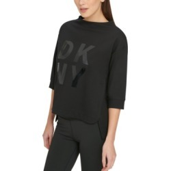 Dkny Sport Stacked-Logo Sweatshirt found on MODAPINS from Macy's for USD $19.93