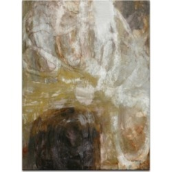 Ready2HangArt, 'Neutral Geode I' Abstract Canvas Wall Art, 30x20