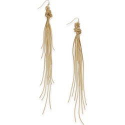 Thalia Sodi Multi-Chain Knotted Linear Drop Earrings, Created for Macy's found on Bargain Bro India from Macys CA for $24.51