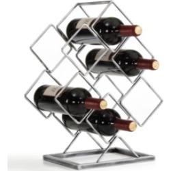 Danya B. Electroplated 6 Bottle Wine Rack
