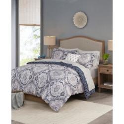 Madison Park Essentials Titus Reversible 8-Piece Queen Comforter Set Bedding
