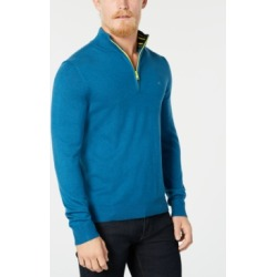 Calvin Klein Men's Quarter-Zip Sweater found on MODAPINS from Macy's for USD $58.80