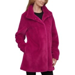 Calvin Klein Faux-Fur Coat found on MODAPINS from Macy's for USD $199.99
