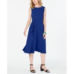 Charter Club Tie-Waist Midi Dress, Created for Macy's found on Bargain Bro India from Macy's Australia for $63.66