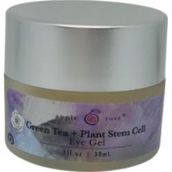 Apple Rose Beauty Organic Green Tea and Plant Stem Cell Eye Gel, 1 oz.
