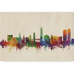 Michael Tompsett Split Croatia Skyline Canvas Art - 37