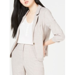 Bcx Juniors' Ruched-Sleeve Blazer found on MODAPINS from Macy's for USD $35.40