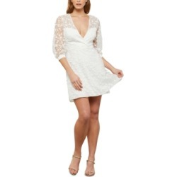 Bcbgmaxazria Floral-Embroidered Mini Dress found on MODAPINS from Macy's for USD $220.80