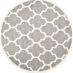 Safavieh Amherst Indoor/Outdoor AMT420 5' x 5' Round Area Rug found on Bargain Bro Philippines from Macy's for $100.00