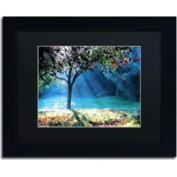 Beata Czyzowska Young 'Rays of Hope' Matted Framed Art - 14
