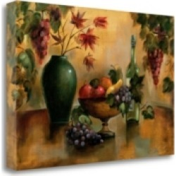 Tangletown Fine Art Autumn Hues by Silvia Vassileva Giclee Print on Gallery Wrap Canvas, 24