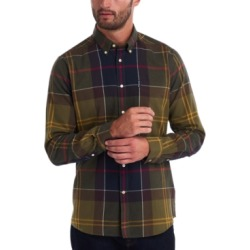 Barbour Men's Tartan Tailored Shirt found on MODAPINS from Macy's for USD $99.00