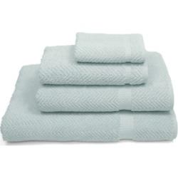Linum Home Herringbone 4-Pc. Towel Set Bedding