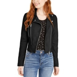 CoffeeShop Juniors' Faux-Leather Jacket found on MODAPINS from Macy's for USD $40.99