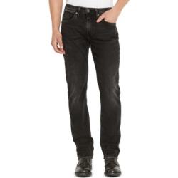 Buffalo David Bitton Men's Six-x Black Jeans
