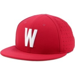 Nike Washington State Cougars Aerobill True Fitted Baseball Cap found on Bargain Bro India from Macy's for $35.00