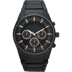 Inc Men's Matte Black Bracelet Watch 46mm, Created for Macy's found on Bargain Bro Philippines from Macy's for $37.12