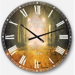 Designart Landscape Photo Oversized Round Metal Wall Clock found on Bargain Bro Philippines from Macy's Australia for $212.05