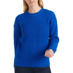 Lucky Brand Ribbed Crew-Neck Sweater