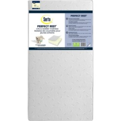 Serta Perfect Rest Dual Sided Crib and Toddler Mattress