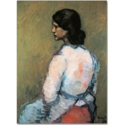Isidre Nonell 'A Study' Canvas Art - 32