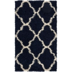 Safavieh Dallas Navy and Ivory 3' x 5' Area Rug found on Bargain Bro India from Macy's for $54.00