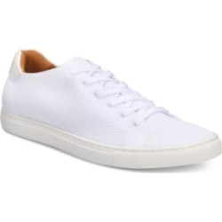 Bar Iii Men's Donnie Knit Lace-Up Sneakers, Created for Macy's Men's Shoes