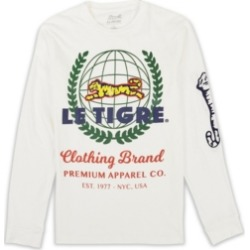 Le Tigre Men's Worldview Long Sleeve T-shirt found on MODAPINS from Macy's for USD $33.60