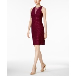 Nightway Sequined Lace Cocktail Dress found on MODAPINS from Macys CA for USD $33.72