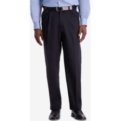 Haggar Men's W2W Pro Relaxed-Fit Performance Stretch Non-Iron Pleated Casual Pants found on MODAPINS from Macys CA for USD $36.68