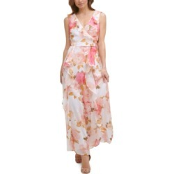Karl Lagerfeld Paris Printed Ruffled Maxi Dress found on MODAPINS from Macy's for USD $148.00